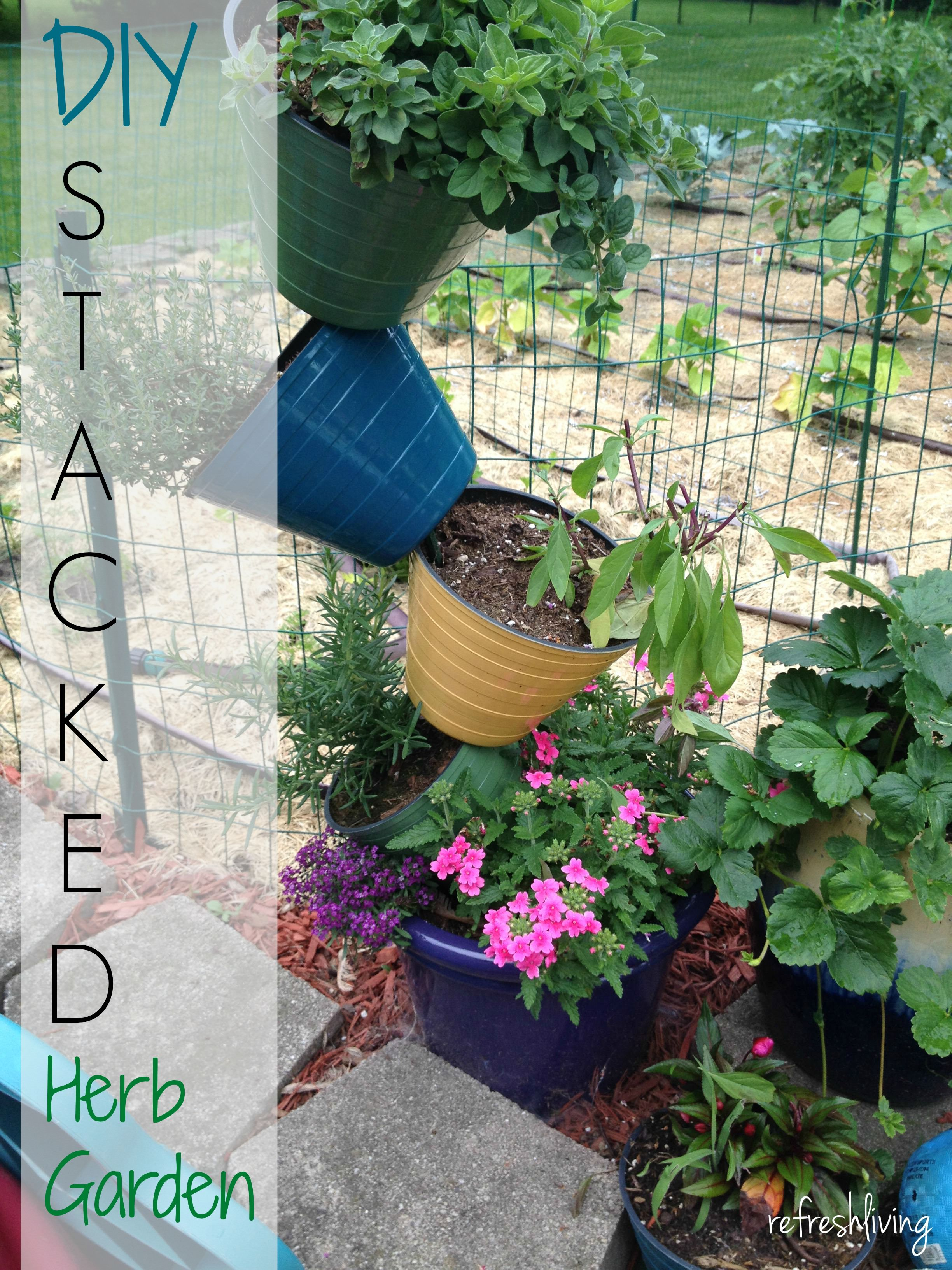 simple herb garden planter with handle unsophisticook easy minute indoor diy project