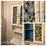 New Life to a Bathroom Cabinet