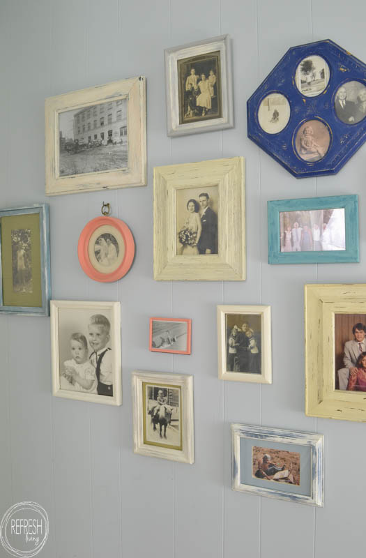 Picture Frame Gallery Wall - Refresh Living