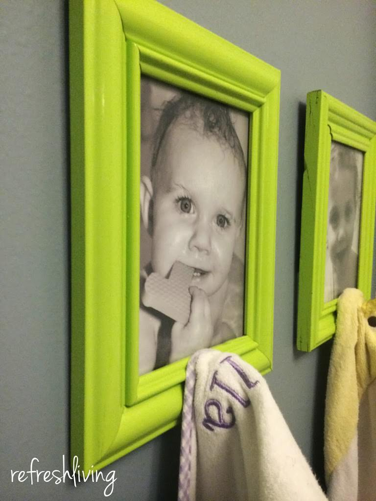 DIY picture frame project