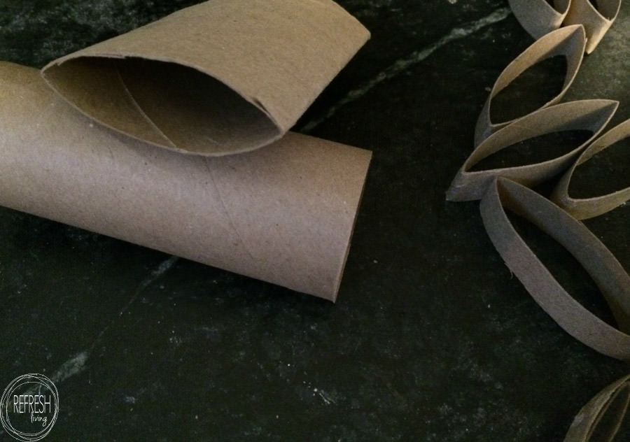 reuse toilet paper tubes as snowflakes great christmas holiday craft ...