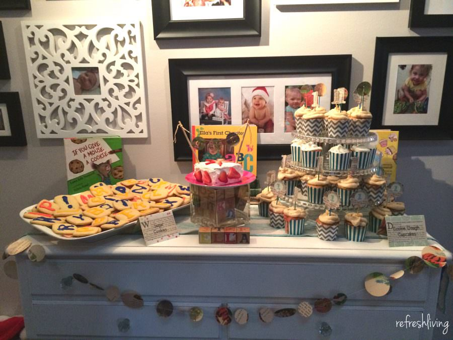 Children S Book Themed Birthday Party Refresh Living