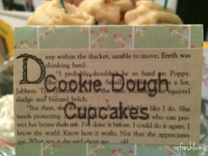 book theme party food labels