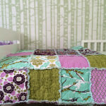 sew your own rag quilt | DIY rag quilt tutorial | beginner sewer rag quilt