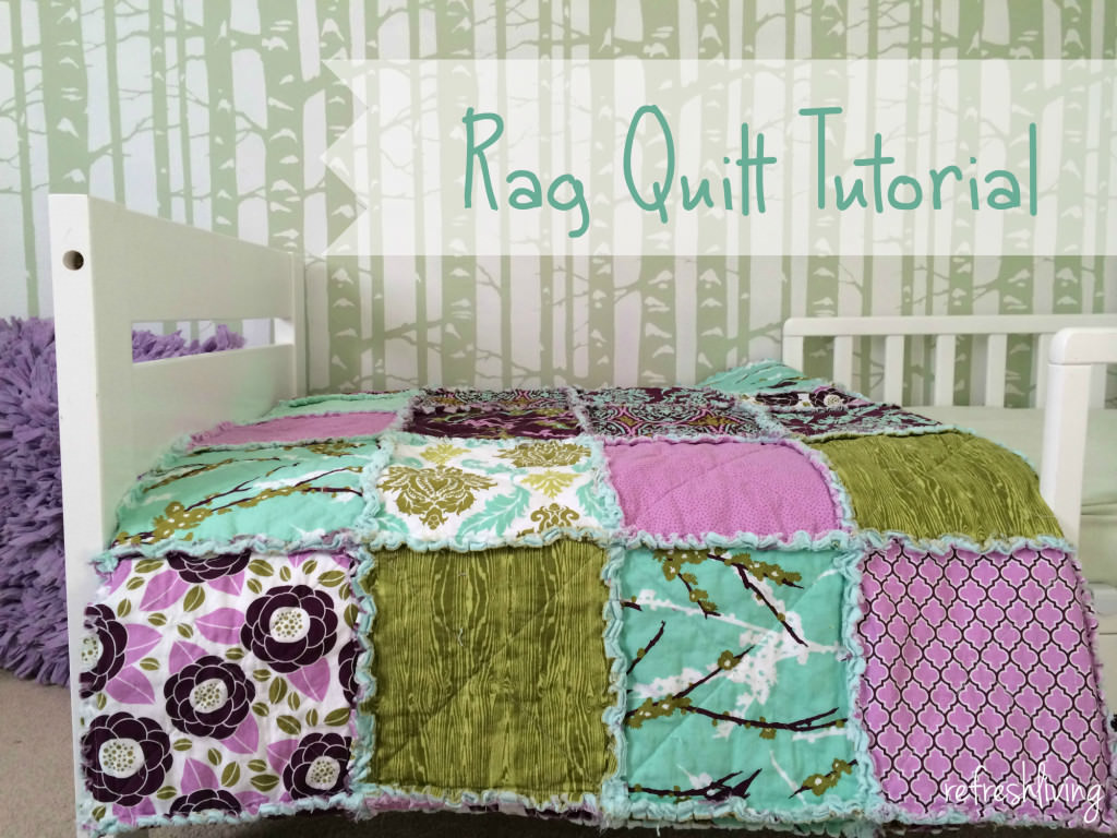 rag quilt tutorial directions