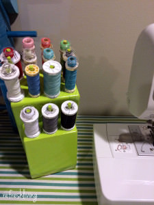 DIY thread organizer