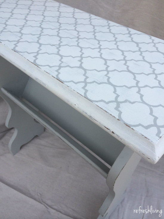 stenciling furniture tips 2