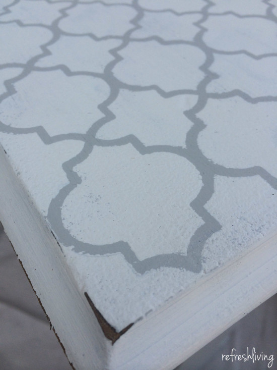 stenciling furniture tips