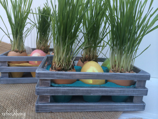 diy easter egg centerpiece