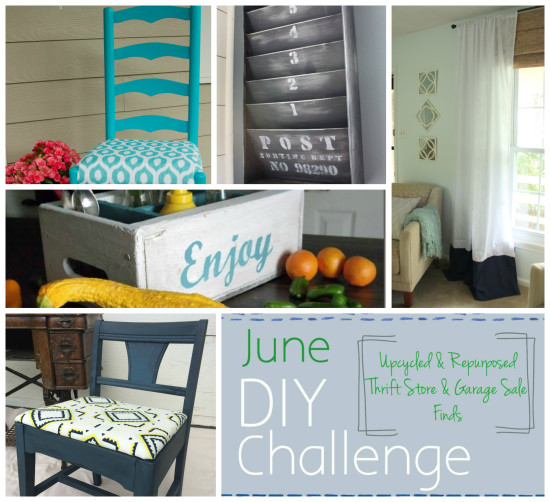 June DIY Challenge Collage