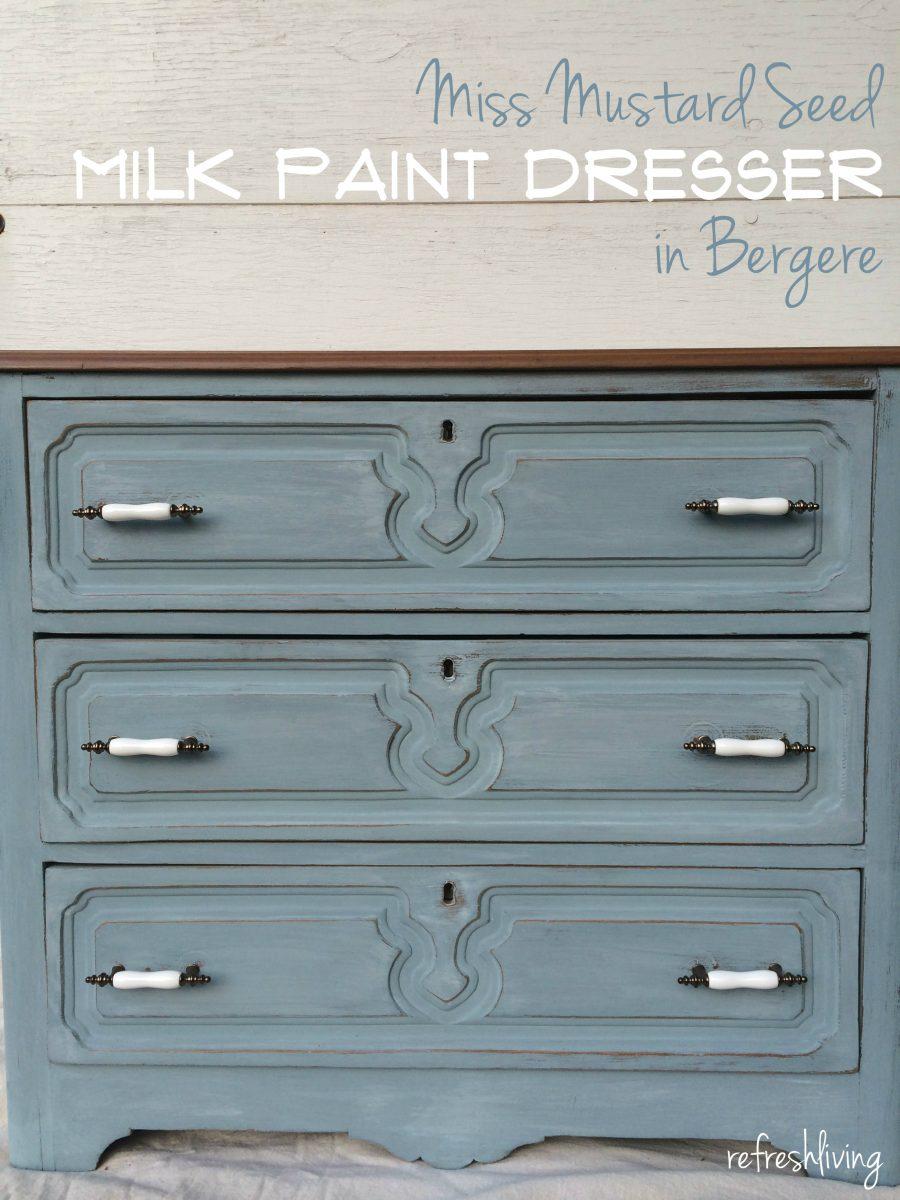 Antique Painted Dresser