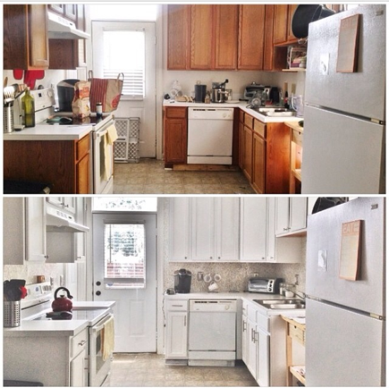 kitchen-update-budget-before-after-diy-kitchen-backsplash-kitchen-cabinets