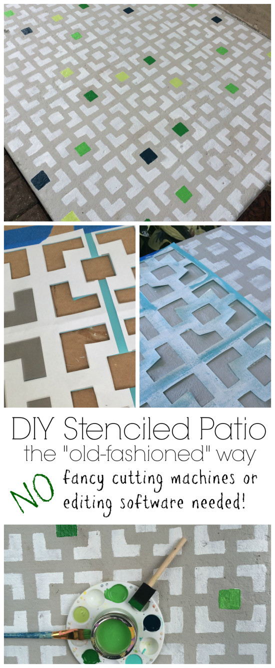diy stencil without cutting machine