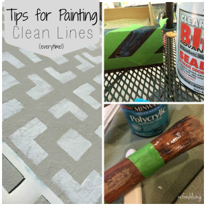 Tips for Painting Perfectly Clean Lines
