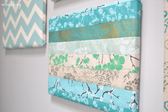 paper wrapped canvas frames