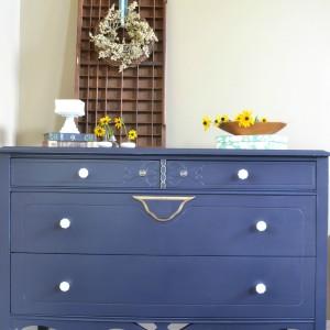 Coastal Blue Dresser ...