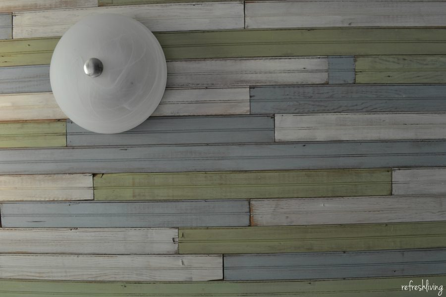 How To Install Beadboard On The Ceiling Refresh Living