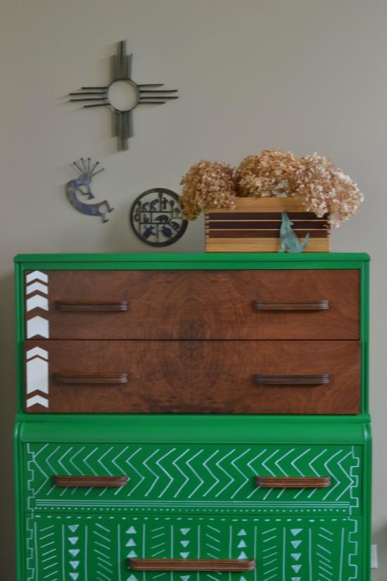 geometric dresser