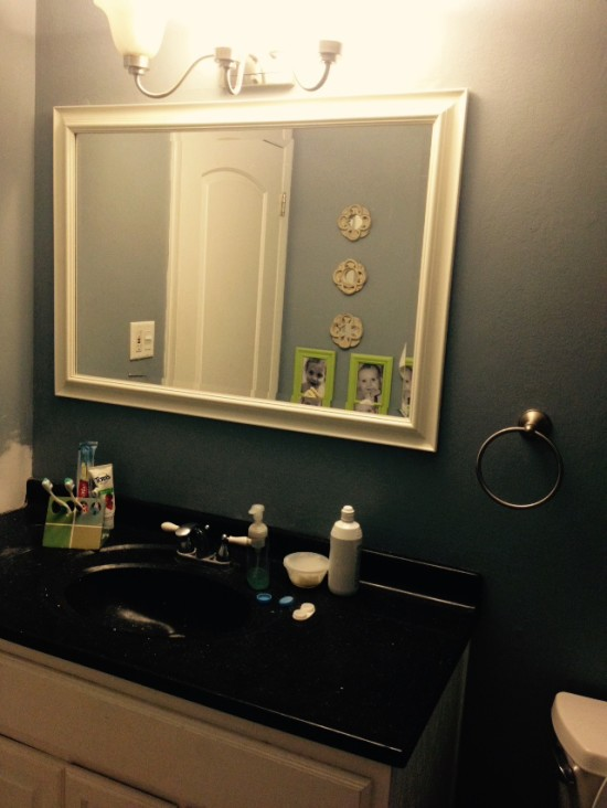 budget bathroom before