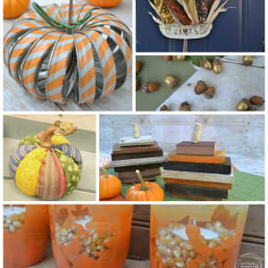 12 Upcycled Projects to Help Decorate for Fall