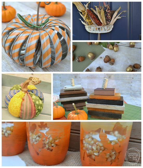 12 upcycled fall decor projects
