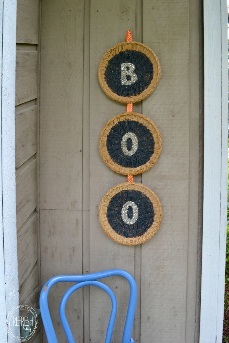 Paper Plate Holders To Diy Halloween Decorations Refresh Living