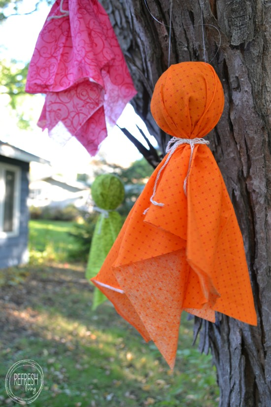 fabric scraps ghosts