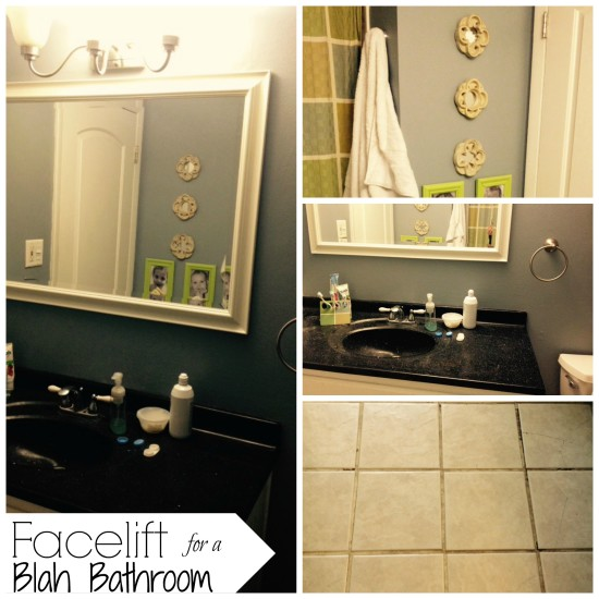 facelift for a blah bathroom