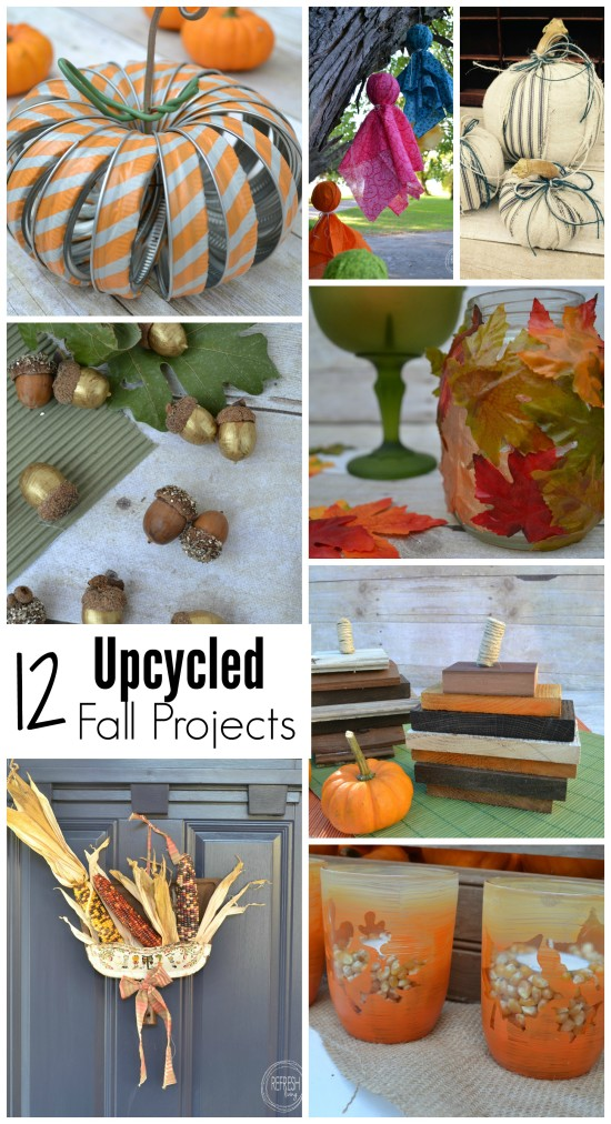 upcycled fall projects
