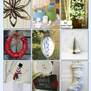 upcycled holiday crafts | diy christmas crafts