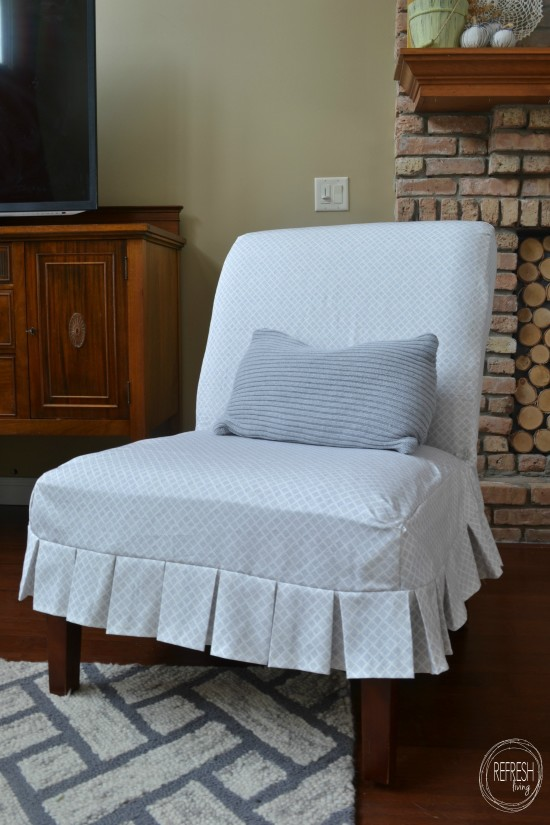 diy custom slipcover