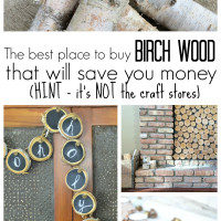 cheap places to buy birch wood