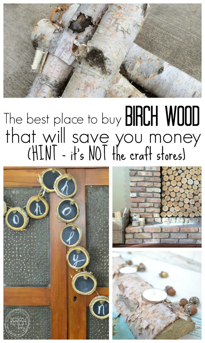 The Best Place to Buy Birch Logs – for Cheap!