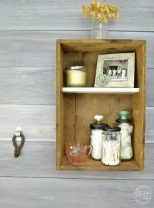 easy and cheap bathroom storage