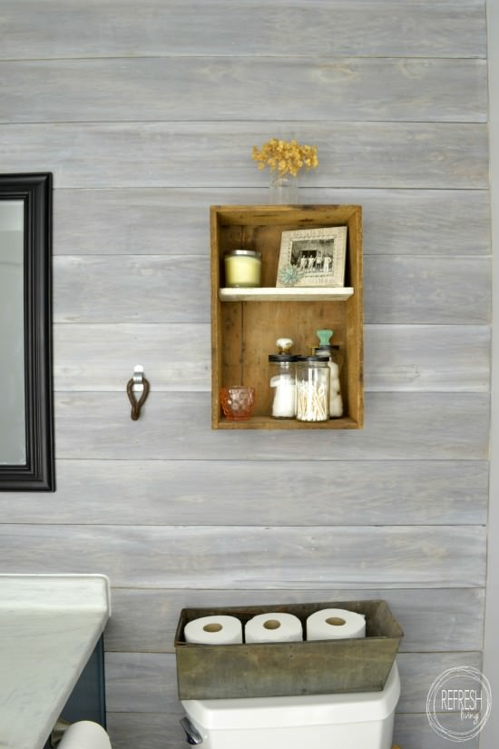 Install A Diy Plank Wall How To Whitewash Wood Whitewashed Horizontal
