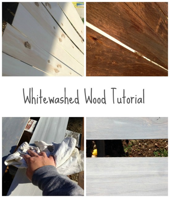 whitewashed wood tutorial | the best way to whitewash wood | whitewashing wood |how to whitewash wood | create the look of weathered wood