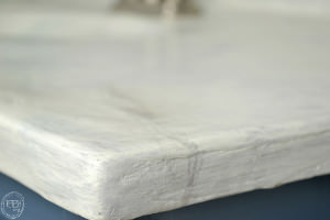 DIY marble countertop | DIY concrete counter over old countertop | how to create a faux marble counter top