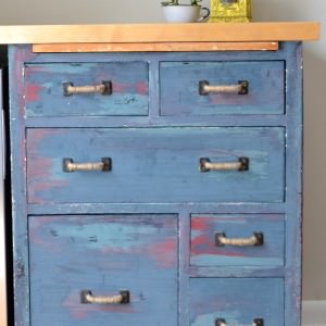 Reuse An Old Dresser As A Countertop Base | Antique Bakeru0027s Cabinet Upcycle  | How To