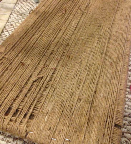 how to weave a chair or bench seat