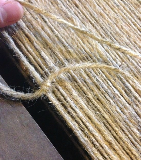 how to weave a rustic chair