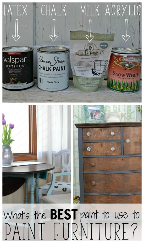 Best Type Of Paint For Painting Furniture Chalk