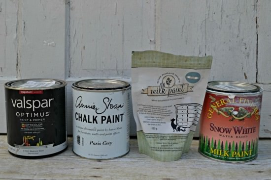 What Is The Best Paint For Painting Furniture? Comparison Between Latex,  Chalk, Milk