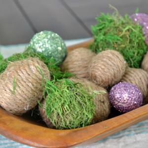 DIY Rustic Easter Eggs