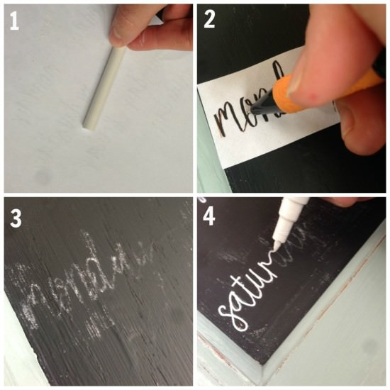how to transfer letters to paint