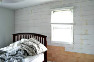 Installing a Shiplap Plank Wall on a Budget: ORC Week 3
