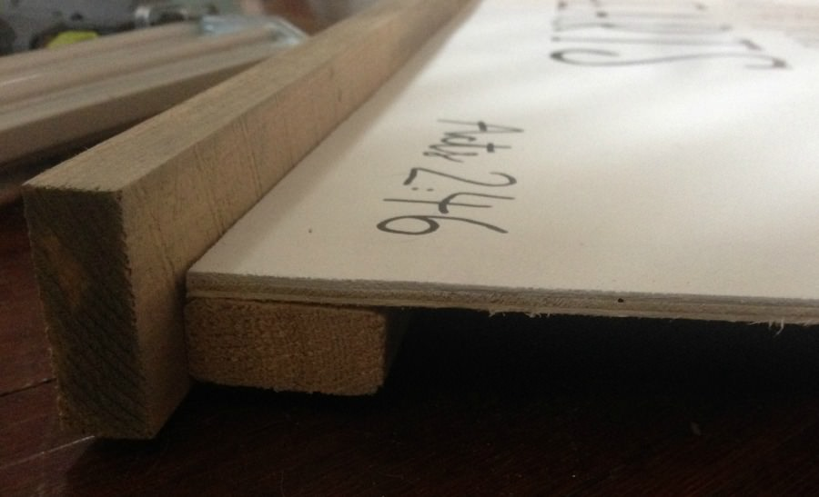 how to make a sign with a quote and wood frame - Refresh Living