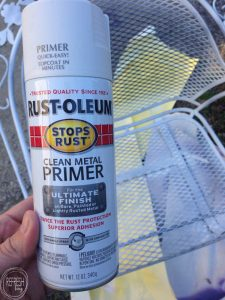 Old metal patio furniture can last a long time if it's prepped and painted in the right way. There are even products made to inhibit rusting!