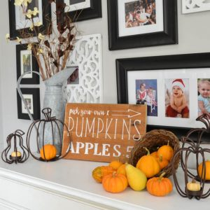 Pick Your Own Pumpkins and Apples DIY Fall Sign