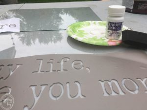 Using glass etching cream is pretty magical! Personalize picture frames, glass dishes and drink ware, or make custom artwork. This simple tutorial shows you how easy it is.