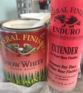 Adding an extender to paint helps to slow drying time which creates a smooth finish, especially when painting in warmer weather.